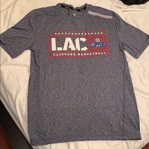 Clippers Fanatics Branded Navy Short Sleeve Shirt